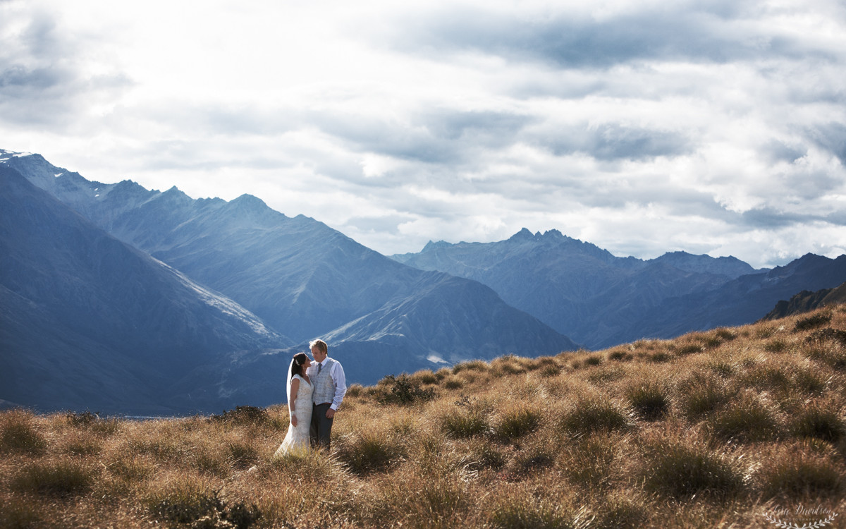 Blair & Peta - Wanaka wedding