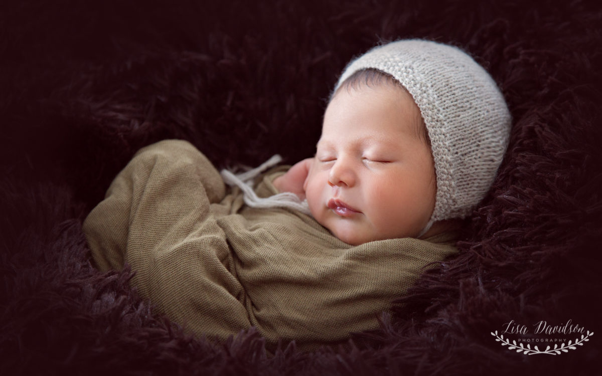 Oscar Oughton - Newborn photoshoot