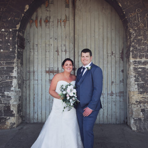 Mandy & Ted - Moeraki wedding