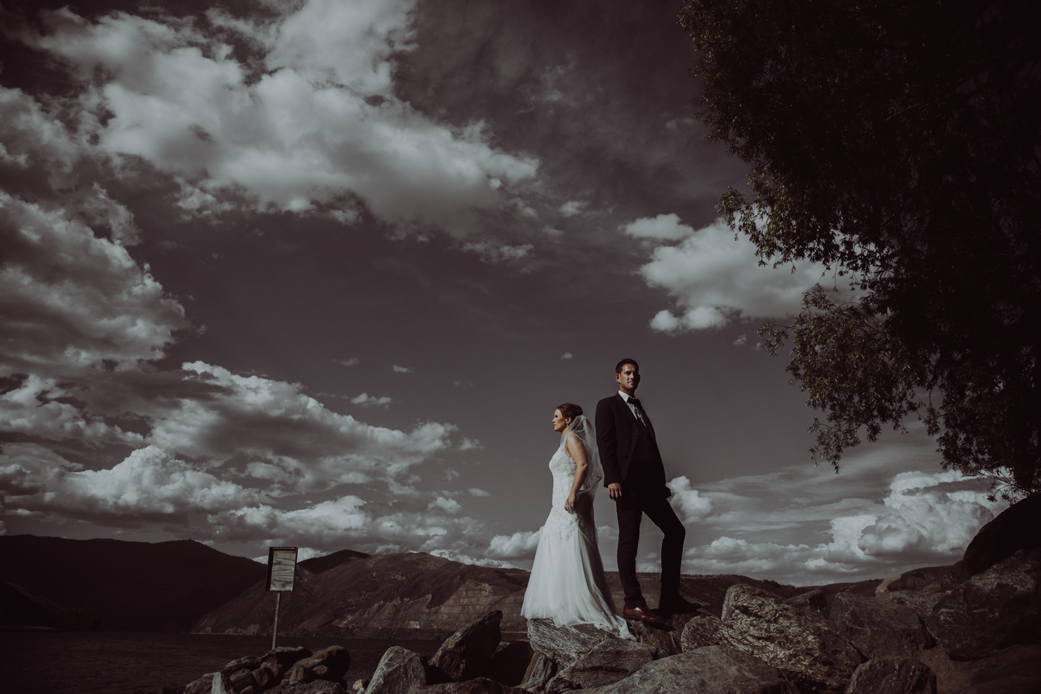 epic wedding central otago